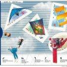 Canada Stamp, 1999 Master Control Sport Kite sheet mnh
