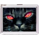 H5S669 Cigarette Case with lighter Cat Animal Picture Free shipping