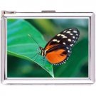 H5S665 Cigarette Case with lighter Butterfly Animal Picture Free shipping