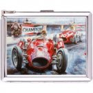 H5S642 Cigarette Case with lighter Racing Vintage Pic Free shipping