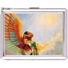 H5S427 Cigarette Case with lighter American Native Picture Free shipping
