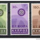 Cyprus Europa 1967 MNH