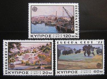 Cyprus Europa 1977 MNH