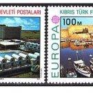 Cyprus Turkey Europa 1977 MNH