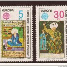 Cyprus Turkey Europa 1980 MNH