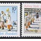 Cyprus Turkey Europa 1981 MNH