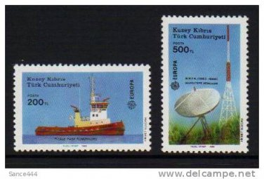 Cyprus Turkey Europa 1988 MNH