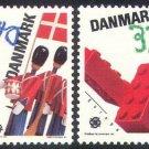 DENMARK EUROPA 1989  mnh