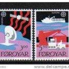 FAROE EUROPA 1988 mnh