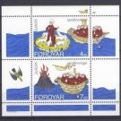 FAROE Islands EUROPA 1994 mnh SS