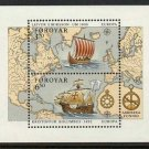 FAROE Islands SS EUROPA 1992 mnh