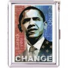 H5S61 Cigarette Case with lighter Barack Obama Picture Free shipping