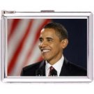 H5S64 Cigarette Case with lighter Barack Obama Picture Free shipping