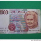 ITALY 1000 lire 5 Mint Banknotes