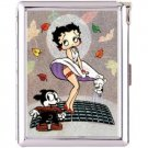 H5S558 Cigarette Case with lighter Betty Boop Picture Free shipping