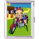 H5S564 Cigarette Case with lighter Betty Boop Picture Free shipping