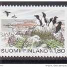 FINLAND 635 mnh National Park,Birds