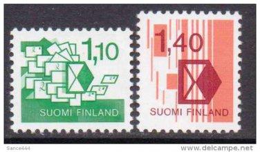 FINLAND New system mnh scott 689-90