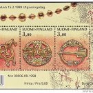 FINLAND SS 1108 mnh Age Bronze Jewels