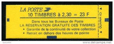 FRANCE 2187 mnh booklet Marianne