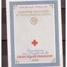 FRANCE B337a mnh booklet Red Cross 1959