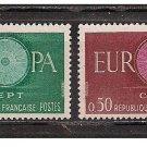 France Europa 1960 mnh
