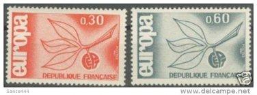 France Europa 1965 mnh