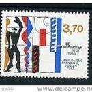 FRANCE 2035 MNH Le Corbusier