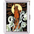H5S396 Cigarette Case with lighter New York Picture Free shipping