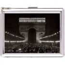H5S395 Cigarette Case with lighter Paris France Picture Free shipping