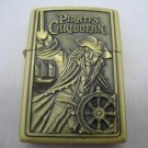 Pirates Caribbean Brass Pocket Lighter #25 Free shipping