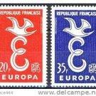 FRANCE EUROPA 1958 MNH