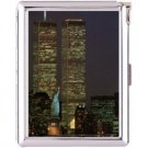 H5S408 Cigarette Case with lighter New York Picture Free shipping