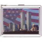 H5S409 Cigarette Case with lighter New York Picture Free shipping
