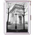 H5S411 Cigarette Case with lighter Paris France Picture Free shipping