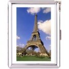 H5S413 Cigarette Case with lighter Paris France Picture Free shipping