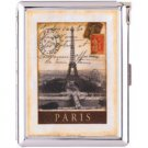 H5S414 Cigarette Case with lighter Paris France Picture Free shipping