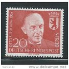 GERMANY Berlin 9N164 MNH 1958 Otto Suhr Mayor