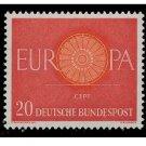 Germany Europa 1960 mnh Scott 818-20