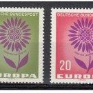 Germany Europa 1964 mnh