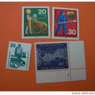 GERMANY 1024-5 ......... mnh various