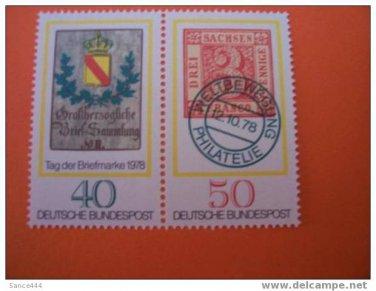 GERMANY 1282a mnh Stamp day