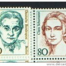 Germany 1480 and 1483 mnh FAMOUS WOMEN