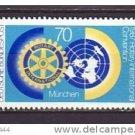 GERMANY 1511 mnh Rotary International Convention Munich
