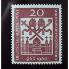 GERMANY 817 mnh HILDESHEIM CATHEDRAL
