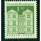 Germany 950 mnh Tegel castle