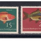 GERMANY B396-9 mnh Fish