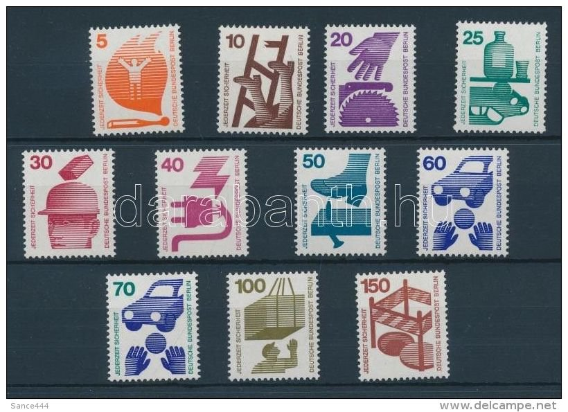 GERMANY Berlin MNH Accident Prevention