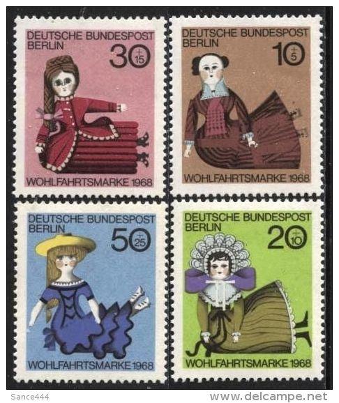 GERMANY Berlin 9N-B057 mnh Dolls