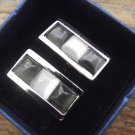 New Elegant Stainless Steel Cufflinks - Various Styles & Shapes Available